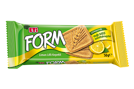 Eti Bran Biscuit with Lemon Fibre