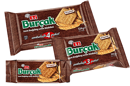 Eti Burçak Whole Wheat Bakery Biscuit