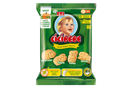 Eti Cicibebe Baby Biscuit with Vegetable