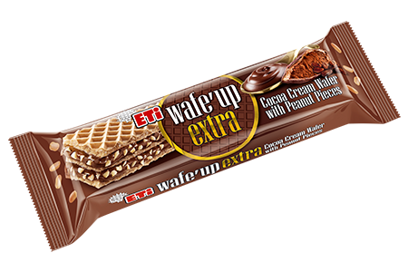 Eti Cocoa Cream Wafer with Peanut Pieces