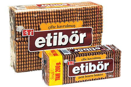 Eti Etibör Double Roasted Petit Beurre Biscuit