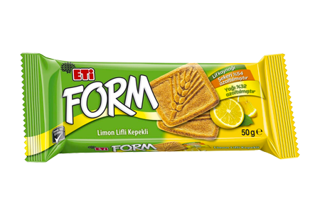 Eti Form Bran Biscuit with Lemon Fibre