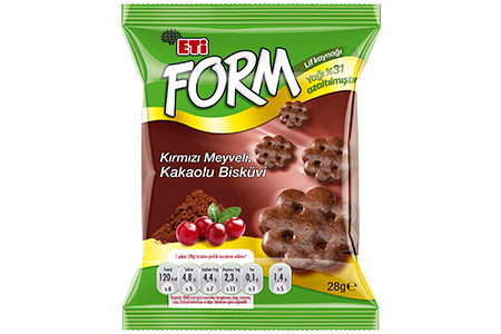 Eti Form Cacao and Blueberry