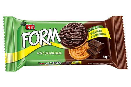 Eti Form Chocolate Covered Biscuits With Fibre