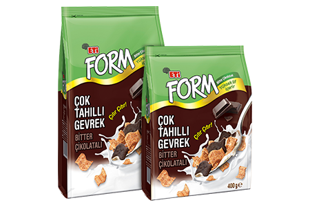 Eti Form Multi Grained Cereal Bitter Chocolate