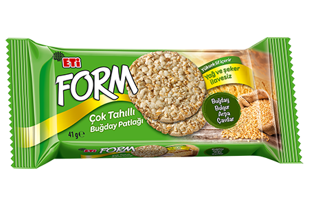 Eti Form Multigrain Puffed Wheat