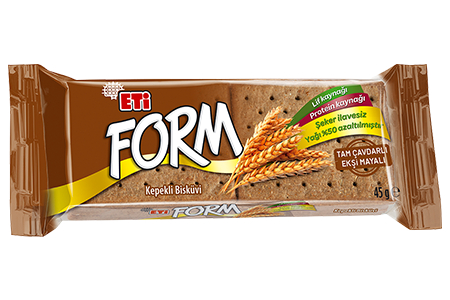 Eti Form Wheat Biscuits with Whole Rye and Sour Yeast