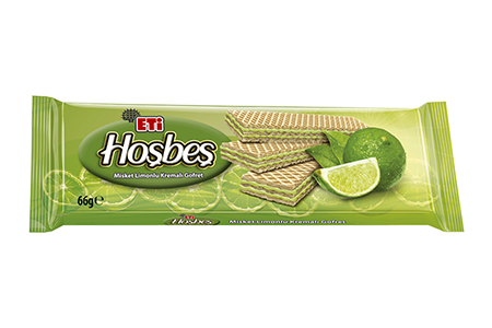 Eti Hoşbeş Wafer with Lime Cream