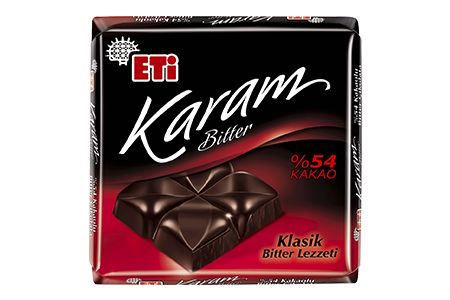 Eti Karam Bitter Chocolate with 54% Cocoa