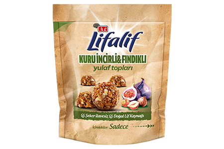 Eti Lifalif Oat Balls with Dried Figs and Nuts