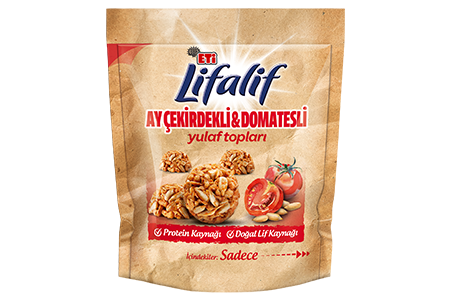 Eti Lifalif Oat Balls with Sunflower Seeds and Tomatoes