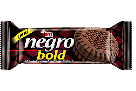 Eti Negro Bold Chocolate Cream Biscuit