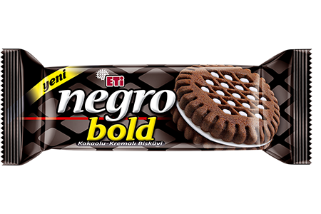Eti Negro Bold Cocoa Biscuit With Cream Filling