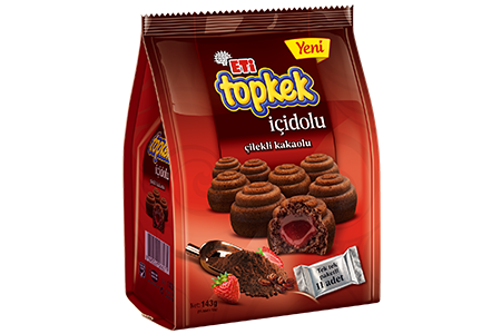 Eti Topkek İçidolu Strawberry-Cocoa