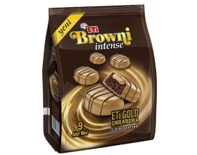 Browni Intense Mini Gold Chocolate Coated Cream Filled Cake